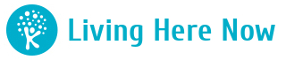 Living here now Logo